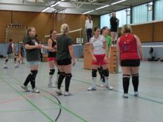 Damen VfL Bückeburg beim Mindener Volleyballturnier